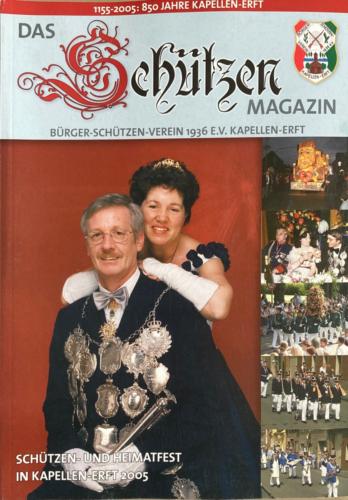 2004/05 S.M. Heinz-Peter und Königin Christel Berrenbaum