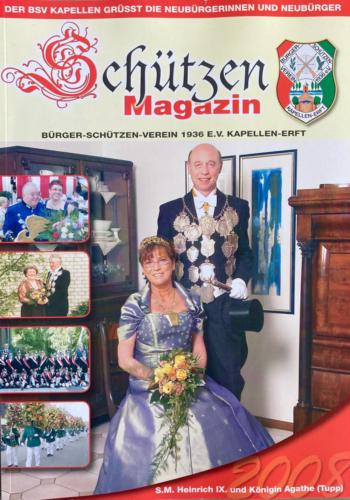 2007/08 S.M. Heinrich IX. und Königin Agathe Tupp