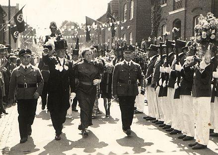 1939 S.M. Josef I. und Königin Josefine Pesch