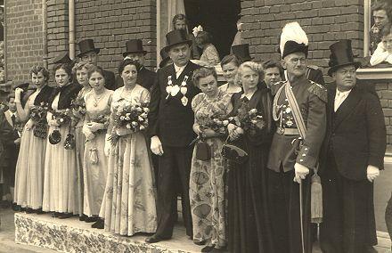 1951/52 S.M. Theodor I. und Königin Margarethe