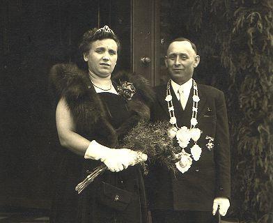 1952/53 S.M. Hubert I. und Königin Gertrud Winzen
