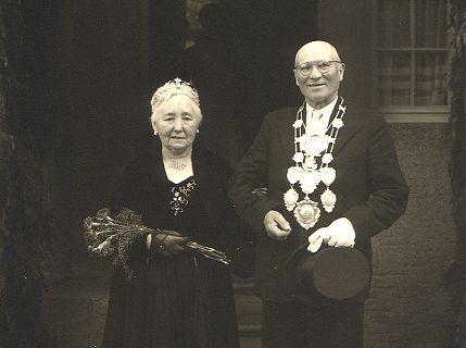 1954/55 S.M. Johann II. und Königin Margarethe Daners