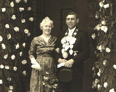 1956/57 S.M. Johann III. und Königin Anna Hoff