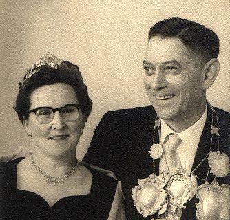 1957/58 S.M. Jakob I. und Königin Christine Bresser