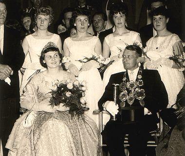 1959/60 S.M. Heinrich II. und Königin Else Rösgen