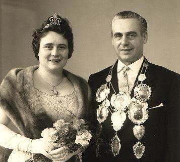 1960/61 S.M. Kornelius I. und Königin Käthe Hüsgen