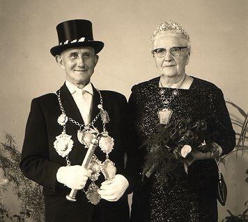 1961/62 S.M. Andreas I. und Königin Katharina Zimmermann