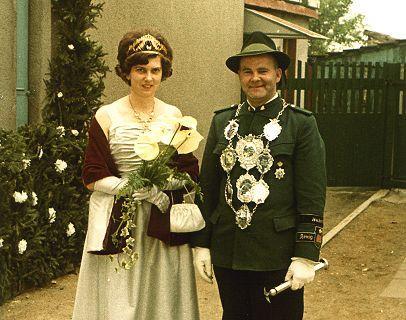 1962/63 S.M. Willi I. und Königin Else Flaß
