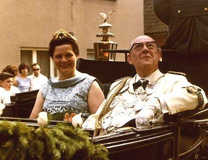 1963/64 S.M. Erich I. und Königin Eva Franken