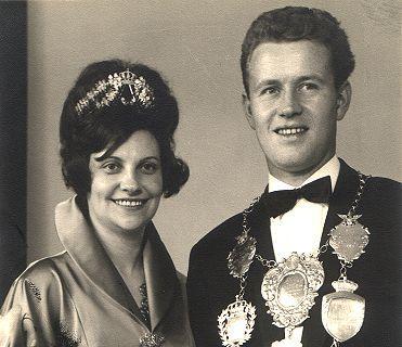 1964/65 S.M. Willi II. und Königin Elisabeth Belz