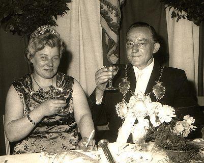 1965/66 S.M. Peter I. und Königin Maria Kröll