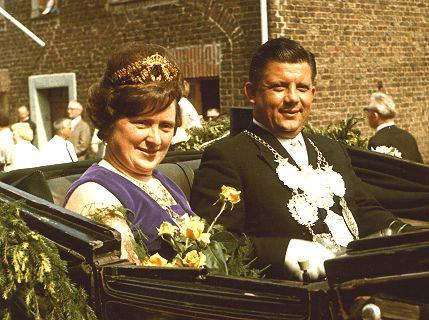 1966/67 S.M. Jakob II. und Königin Christa Meffert