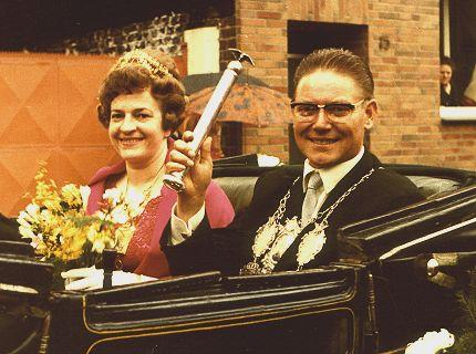 1967/68 S.M. Christian I. und Königin Hilde Bresser