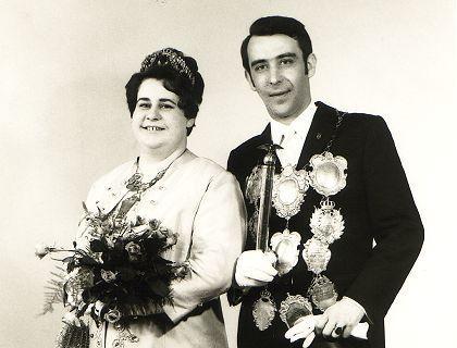 1969/70 S.M. Heinz III. und Königin Gertrude Esser