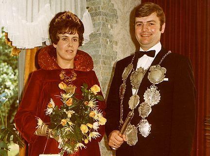 1970/71 S.M. Hans-Willi I. und Königin Irmgard Pesch