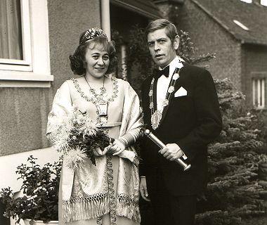 1971/72 S.M. Willi III. und Königin Edith Schlosser