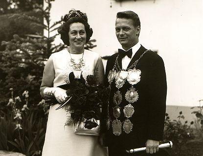 1972/73 S.M. Fred II. und Königin Florentine Kremer