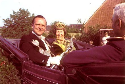 1973/74 S.M. Theo II. und Königin Christine Hodissen