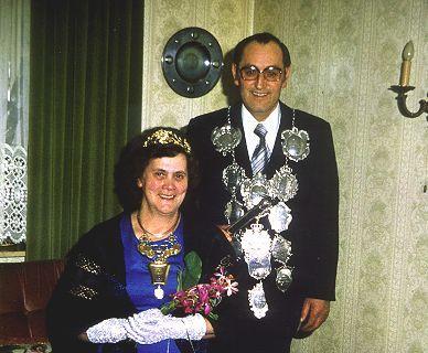 1976/77 S.M. Peter II. und Königin Hedwig Winzen