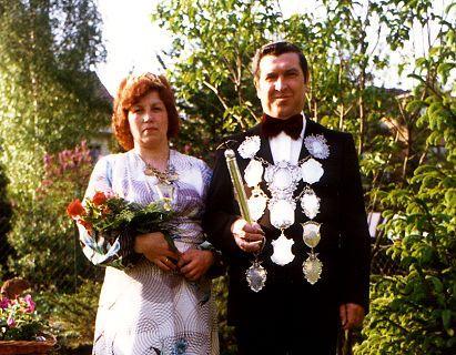 1977/78 S.M. Gustav I. und Königin Christa Kremer
