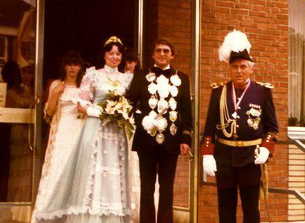 1979/80 S.M. Dieter I. und Königin Margret Hösen