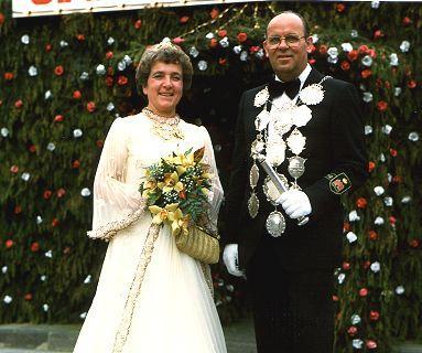 1980/81 S.M. Heinz V. und Königin Käthe Schmitz