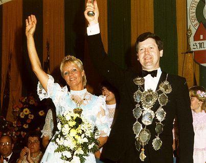 1981/82 S.M. Karl-Josef I. und Königin Inge Thienen