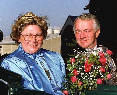 1982/83 S.M. Klemens I. und Königin Anne-Lore Stappen