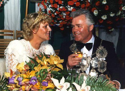 1983/84 S.M. Heinz VI. und Königin Ulla Allrath
