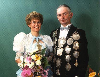 1985/86 S.M. Leo I. und Königin Franziska Hösen