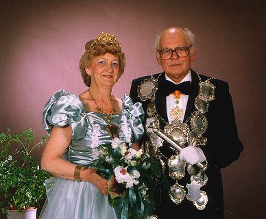 1989/90 S.M. Heinz VII. und Königin Marga Kröll