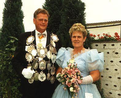 1990/91 S.M. Peter III. und Königin Kathi Türks
