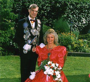 1991/92 S.M. Walter I. und Königin Elfriede Schmitz