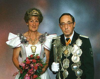 1995/96 S.M. Hans VII. und Königin Gerlinde Reisdorf
