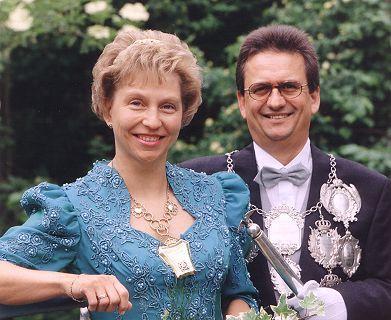 1999/2000 S.M. Hans-Theo I. und Königin Christel Wolf