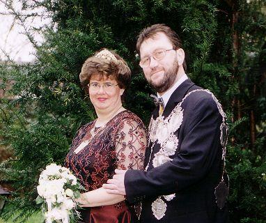 2000/01 S.M. Karl-Heinz II. und Königin Diana Becker