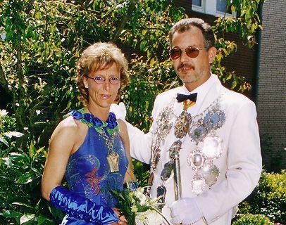 2001/02 S.M. Ralf I. und Königin Sybille Ohmann