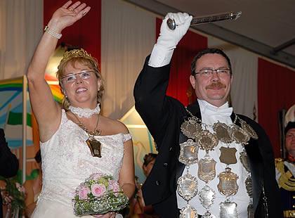 2006/07 S.M. Roland I. und Königin Rosi Knoben