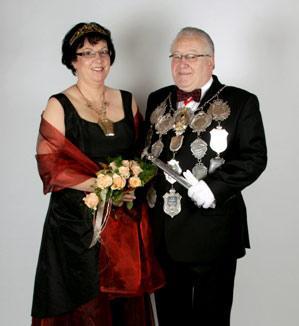 2008/09 S.M. Hermann-Josef I. und Königin Maria Dominick