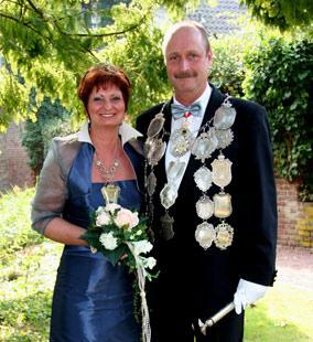 2009/10 S.M. Alfons I. und Königin Christiane Winzen