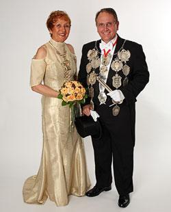 2010/11 S.M. Friedhelm I. und Königin Gabriele Barmeyer