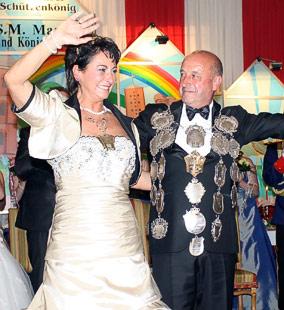2012/13 S.M. Faustino I. und Königin Maria Ardines