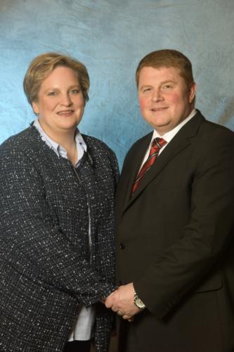 Kronprinzenpaar Lutz und Kerstin Türks